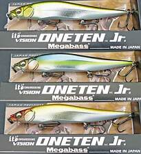 Megabass Ito Vision Oneten Jr. 110 Jr. Jerkbait fishing lure. Best color choices