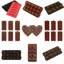 Silicone Chocolate Cake Cookie Candy Jelly Ice Cube Tray Mould  Mold Baking Tool