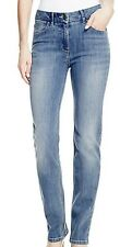 M&S COLLECTION LADIES STRAIGHT LEG DENIM JEANS ADDED STRETCH 3 LENGTHS