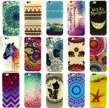 Paint Pattern Phone Soft TPU Back Skin Case Cover For Apple iPhone 4S 5S 6 6Plus