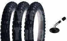 Phil and Teds CHUNKY Pram Tyres & SLIME Tubes (Set of 3) ANTI-PUNCTURE