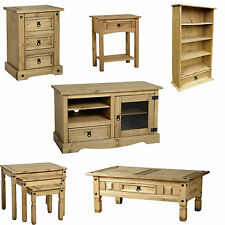 Corona Range Furniture Pine Bedsides,Nest Tables,Tables,TV Units,Bookcases,Chest