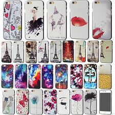 Sexy Fashion Star Flower Personality Relief Skin Hard Case Cover For iPhone