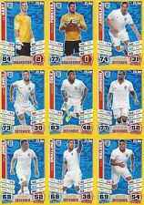 Match Attax England 2014 World Cup Trading Cards (ENGLAND-Base) 76-103