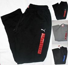 *NWT* Men's PUMA Soft Fleece Lined Sweatpants-'Essential Terry'-Variety