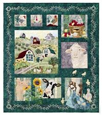 AND ON THAT FARM  McKenna Ryan CHOOSE A PATTERN NEW Quilt Applique Blocks