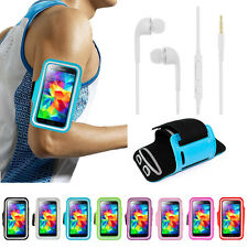 Running GYM Sports Armband Cover + Earphone for Samsung Galaxy S5/4/3 Note5/4/3