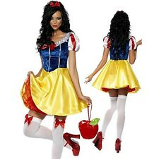 Women Snow White Princess Stage Costumes Sexy Cosplay Costumes Halloween Dresses