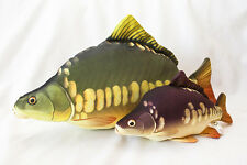 Gaby Soft Fish Pillows Replicas Trophy  Reel Pod Rod Carp Mascot Lure Gift Pike