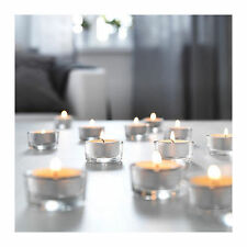 Ikea GLIMMA Glass Tea Light Holder Party Candle Holders Wedding Tealight Romanti