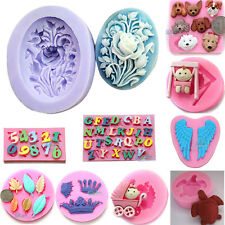 Fondant Embossing Mold Soap Mold Sugarcraft Clay DIY Baking Tool Cake Decoration