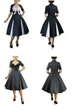 Retro Polka Dot Rockabilly Swing Dress - More Colours - CHC26