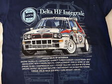 LANCIA DELTA INTEGRALE WRC (MARTINI) ICONIC ADULTS T SHIRT SMALL TO 3XL.NEW