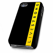 Hard Case Livestrong Austin Bike Sports Cover For Apple iPhone 4 | 5 | 6 | 6 +