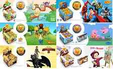 5 pcs./CHOCOLATE BALL/EGG,MY LITTLE PONY,MONSTER HIGH,MASHA AND BEAR,WITH 3D TOY