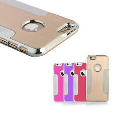 Ultra-thin Aluminum Shockproof Dust Proof Hard Cover Case For iPhone 6 6S 4.7""