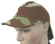 FRANCE FRENCH ARMY FIELD HAT & NECK PROTECTOR DESERT CAMO