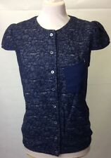 Patrizia Pepe Navy top. Various Sizes. RRP £169. BNWT. 8J0006/AS31-C392