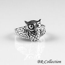 925 Sterling Silver Owl Ring
