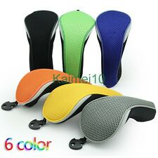 4pcs Neoprene Golf Club Hybrid Cover Headcovers For Taylormade Snake Titleist