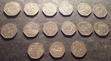 Commemorative Fifty Pence Coins – British 1969 / 2014 - Kew Gardens Iom