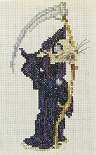 Discworld Death of Rats counted cross stitch kit/chart 14s aida
