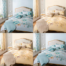 Catherine Lansfield Flora Traditional Cotton Blend Duvet Cover Set
