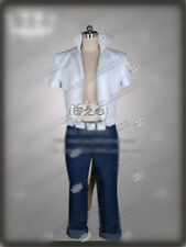 New!RWBY A Set Fighting Sun Wukong Cosplay White and Blue Costume Free Shipping