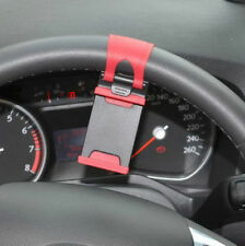 HANDY CAR STEERING WHEEL RUBBER BAND MOUNT HOLDER STAND FOR VARIOUS APPLE PHONES