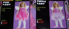 Fairy costume,toddler' size 4-6T,pink or purple,dress-up,children,pretend play
