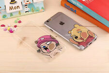 Cute onepiece minion/chopper/Luffy Naught Face hit glass iPhone5/s/6 case fm US