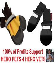 Dog Boots Muttluks All Weather Yellow or Fleece Lined Black Xxs Xs S M L