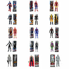 12'' Gift The AVENGERS Marvel Hero Series Iron man SPIDER Man Action Figure Toys