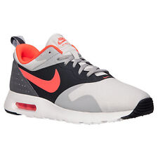 Nike Air Max Tavas Men's Neutral Grey Crimson Running Shoes 705149 002 US 7-11