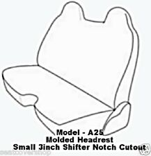 A25 PREMIUM Double Stitched Front Solid Bench Custom Made Exact Fit Seat Covers