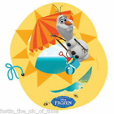 Disney FROZEN SUMMER OLAF Birthday Party Invites Girls Boys Job Lot INVITATIONS