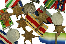 100% ORIGINAL Full Size WWII British Medal WW2 Campaign Star Medals FREE UK P&P