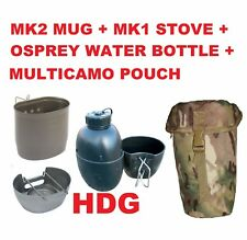 BCB BRITISH ARMY CRUSADER COOKING SYSTEM MK2 DRAGON MUG STOVE OSPREY BOTTLE