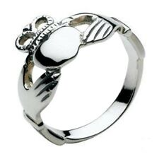 Solid Silver Irish Celtic Claddagh Ring Celtic Jewellery
