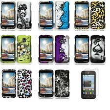 Design Collection Hard Snap On Cover Protective Phone Case ZTE Rapido LTE Z932L