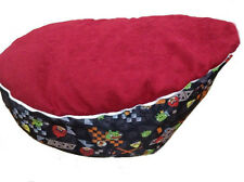 Fashionable Baby BeanBag Children Sofa Chair Cover Soft Snuggle Bed with Harness