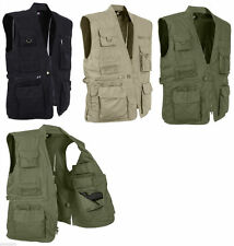 Tactical Plainclothes Concealed Carry Multi-Pocket Cargo  Vest Rothco 8567 NEW!
