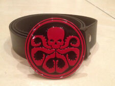 HYDRA logo BUCKLE + FREE BELT marvel agents of shield S.H.I.E.L.D cosplay tv NEW