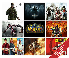 A3 SIZE *  BEST VIDEO GAMES OF ALL TIMES POSTERS Print Home Wall Room Decor Gift
