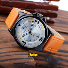 Newest MILER Fashion Round Date Dial Men Women Boys Girl Wirst Watch Best Gifts