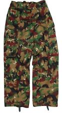 GENUINE SWISS ARMY COMBAT TROUSERS IN ALPENFLAGE CAMO