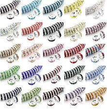 USA Shipping Top Quality 4,6,8,10mm Crystal Rhinestone Rondelle Spacer Beads