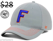 Florida Gators Men 47 Brand FlexFit Fitted NCAA Hat Cap Team Apparel Clothing