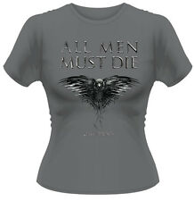 Game Of Thrones 'All Men Must Die' Womens Fitted T-Shirt - NEW & OFFICIAL!