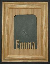 Custom Personalized Wood Name Picture Frame 5x7